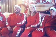Mum in Gold Christmas Commercial